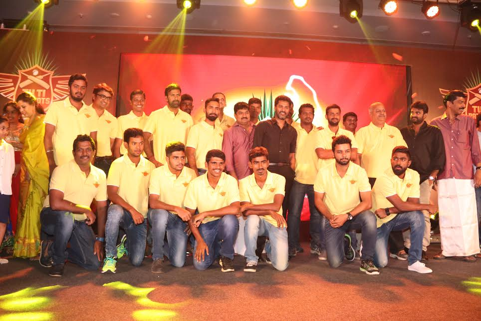 'Prabhu Deva' launches the Anthem of 'TUTI PATRIOTS'