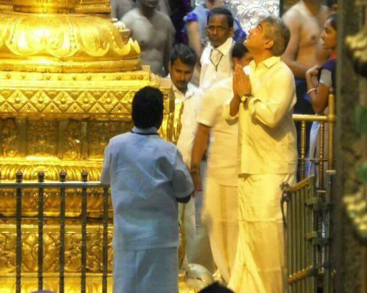 திருப்பதியில் பக்தர்களை ஸ்தம்பிக்க வைத்த தல அஜித்