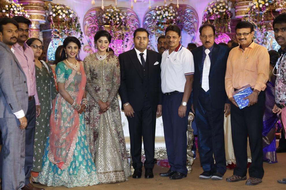 Anush elangovan wedding