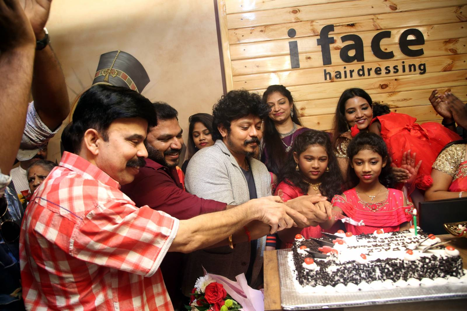 The Grand Opening of i Face Hairdressing Studio launch Photos