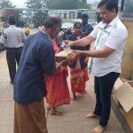 5000 ஏழை குடும்பங்களுக்கு ஒரு மாத ரேஷன் பொருட்கள் வழங்கிய தயாரிப்பாளர் எஸ் தணிகைவேல்