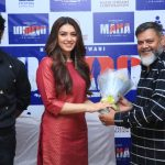 Actress Hansika Motwani's 50th film 'Maha' Releasing soon in Theater