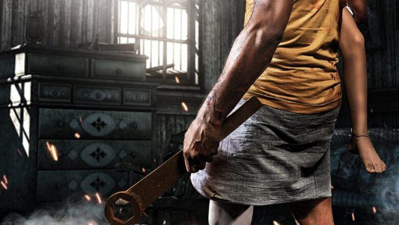 நடனப்புயல்' பிரபுதேவா நடிப்பில் தயாராகி வரும் புதிய படத்திற்கு 'பொய்க்கால் குதிரை' என பெயரிடப்பட்டு, அதன் ஃபர்ஸ்ட் லுக் வெளியாகியிருக்கிறது.